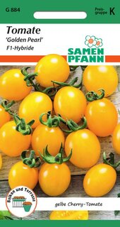 Tomate Golden Pearl F1 Cherry-Tomate