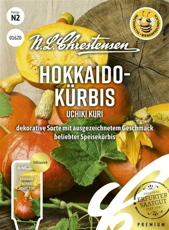 Hokkaido-Kürbis Uchiki Kuri Dürr Samen