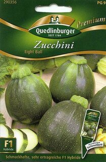 Zucchini Eight Ball